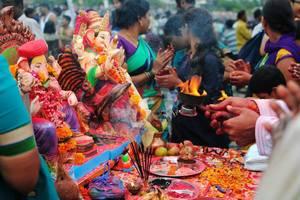 Ganesh visarjan/immersion