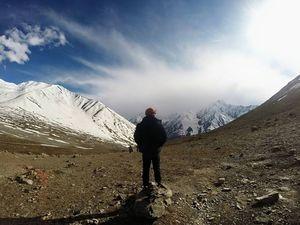 The snowy gateway to Spiti Valley: Kunzum La