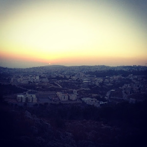 First night in Israel