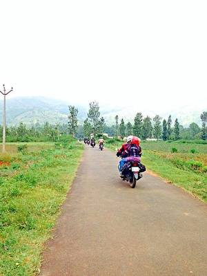 Ride to Kolli Hills with BMC