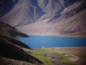 HEAVEN ON EARTH,CHANDRATAL LAKE( MOON LAKE),SPITI,APPOX. 4300 MTS