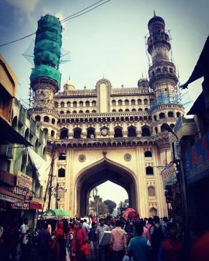 Then Bhaganagar, now Hyderabad