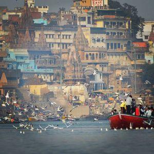 Morning Boat Ride In Banaras