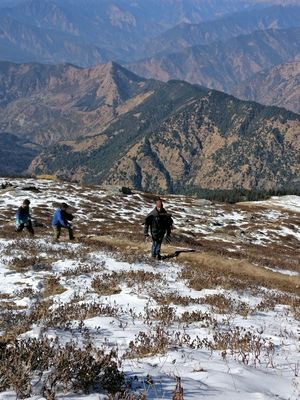 The solo trip to Himalayas..chandrashila trek..