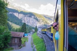 Murren, Switzerland and Junfraujoch (the Top of Europe) July 2016