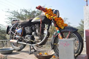 The Royal Enfield diaries with snapshots to an event
