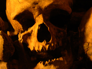 An Evening with the Dead (Paris Catacombs)