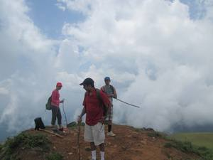 Walking with the clouds: Tadiandamol, the Highest Peak in Coorg