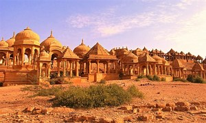 Royal Charm - The Cenotaphs Of Bada Bagh