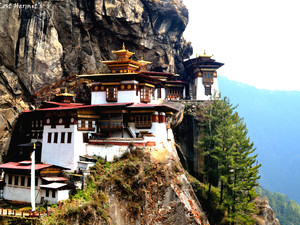 The Point of No Return-trekking to Tiger's Nest in Bhutan