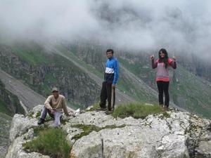 FIRST TREK!!! - Hampta pass 20th-24th July 2013