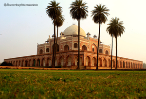 A visit to Humayun's Tomb.