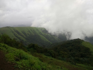 The misty way to Kodachadri