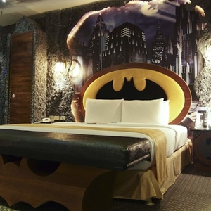 The Batcave Has Shifted to This Hotel Room in Taiwan!