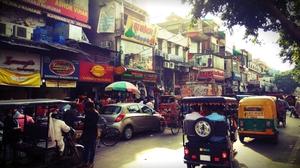 A Walking Trip To Old Delhi