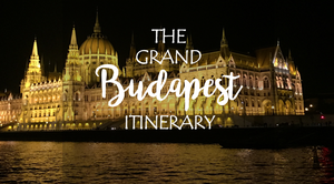 The Grand Budapest Itinerary
