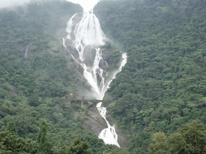 """Dudh Sagar """"Chennai Express"""" Waterfall"""