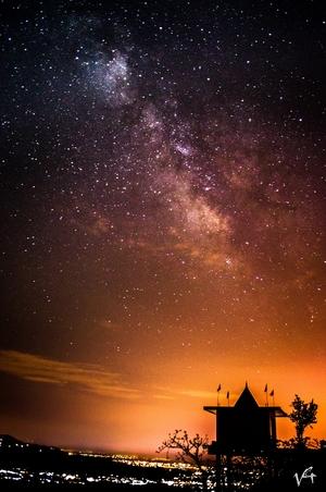When I met the Milky Way