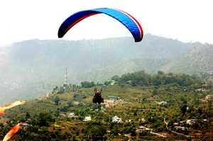 When I flew for the first time in Bhimtal!