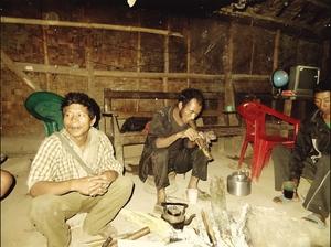 Meet opium sucking head hunters-Longwa,Nagaland