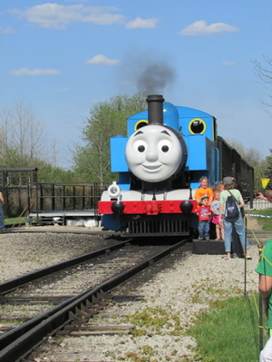 Day out with Thomas, Greenfield Village, Michigan