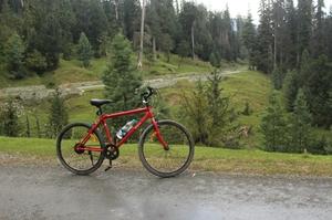 Cycling trip to Gulmarg