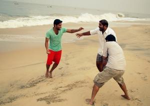 Marari Beach, Alleppey- Kerala! A destination for awesome sea food and sunrise.