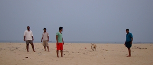 Marari Beach, Alleppey- Kerala! A destination for awesome sea food and sunrise.