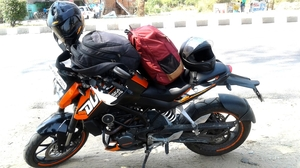 My story as pillion rider – 800+ kms ride from Delhi to Kasardevi