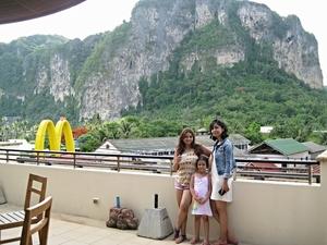 krabi island  and bangkok thailand