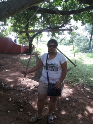 A weekend trip to Auroville