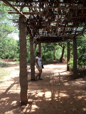A weekend trip to Auroville