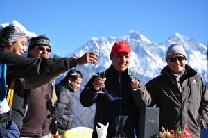 Champagne Breakfast on Top of the world  by helic