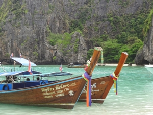 Messing about in Boats on Phi Phi, Thailand