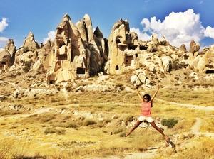 Up in the Air in Cappadocia: A Hot Air Balloon Ride
