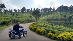Biking in heaven – Munnar, Kerala