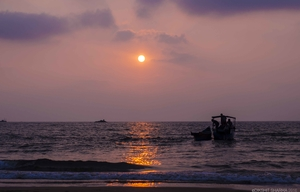 Gokarna - An evening in Kudle.