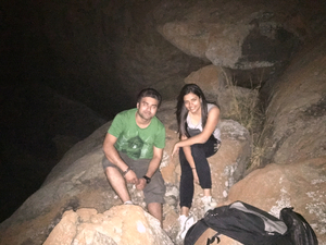 Night Trek and Cave Exploration at Antaragange, Bangalore