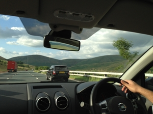 A roadtrip to the countyside of Scotland