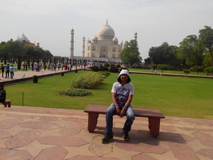 The Crown of India- Taj