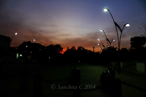 Soloing in Pondicherry