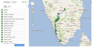 Bike trip - Bangalore to Trivandrum via Mysore