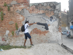 The murals of George town, Malaysia