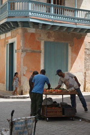 On finding food in Cuba