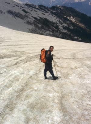 Enjoying in Himalayas