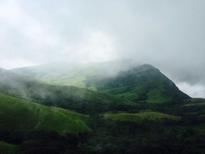 Trekking the trails to the peak of kudremukh!!