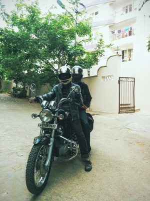 1800 Kms in 7 days for a Motorcycle Documentary.