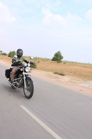 Motorcycling in Rajasthan