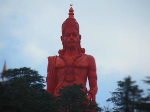 Jakhu Temple – Temple with world's highest Hanuman Statue in Shimla