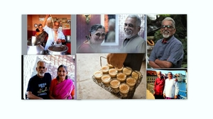 Meet Mr. Vijayan: Chaiwalla & Passionate Traveller